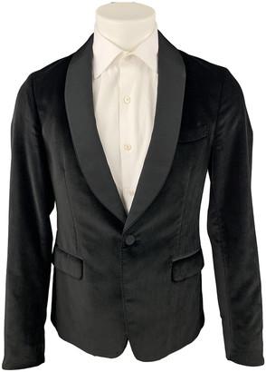 Gucci Black Velvet Suits