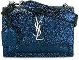 Saint Laurent glitter crossbody bag