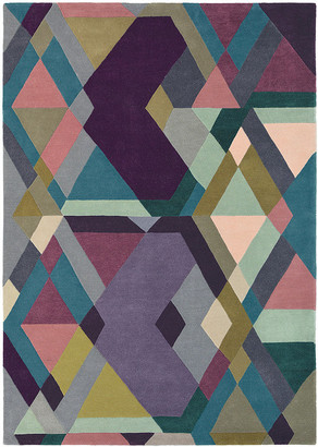 Ted Baker Light Purple Mosaic Rug - 170x240cm