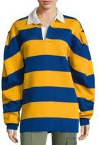Marc Jacobs Oversized Rugby Sweatshirt