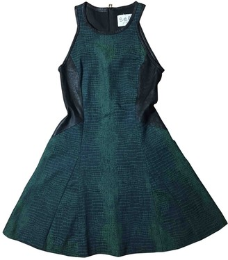 Sea New York Green Leather Dresses