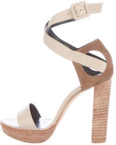 Pierre Hardy Leather Ankle Strap Pumps