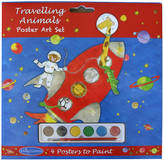 Milly Green Travelling Animals Poster Art Set