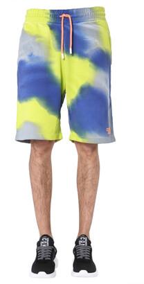 Marcelo Burlon County of Milan Colour-Block Track Shorts