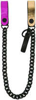 DSQUARED2 leather pant chain - men - Leather - One Size