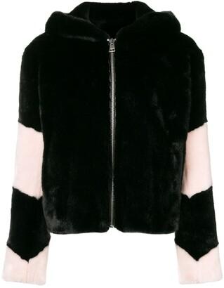 La Seine & Moi Louve faux fur jacket