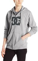 DC Men's Star Zip Up Screen Hoodie