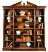 LIBRARY Jonathan Charles Fine Furniture Windsor Triple Breakfront Bookcase Jonathan Charles Fine Furniture