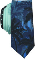 Original Penguin Men's Palm Tree Skinny Tie