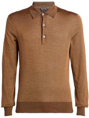 Tom Ford Silk Polo Shirt