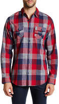 Burnside Ruins Regular Fit Plaid Shirt