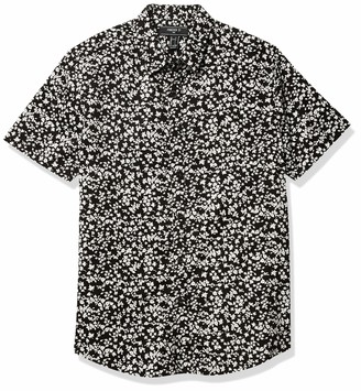 Forever 21 Men's Geo Print Classic Fit Shirt