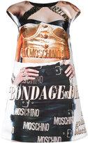 Moschino trompe-l'œil print dress