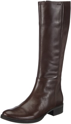 Geox D Mendi Stivali P Womens Ankle Riding Boots Brown (Coffeec6009) 2.5 UK (35 EU)