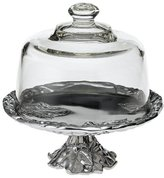 Arthur Court Grape 8-Inch Footed Plate with Glass Dome