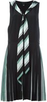 Marc Jacobs pleated v-neck dress