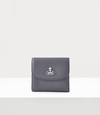 Vivienne Westwood Johanna Medium Wallet With Coin Pocket Grey