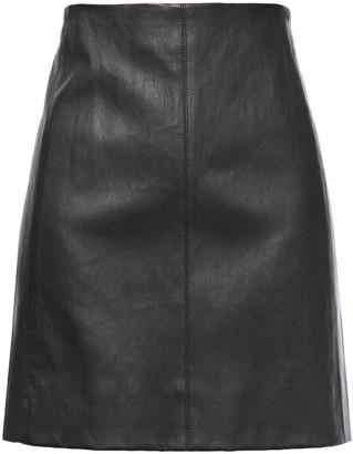 Joseph Holt Stretch-leather Mini Skirt