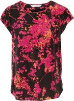 Diane von Furstenberg Andressa printed silk-chiffon top
