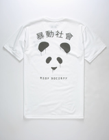 Riot Society Drips Panda Mens T-Shirt