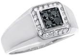 Effy Jewelry Gento Black Diamond Ring, .32 TCW
