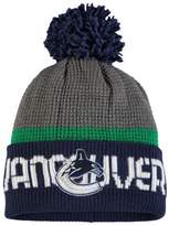 Reebok Vancouver Canucks Cuffed Pom Knit Toque
