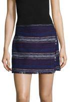 Joie Genae Fringed Mini Skirt
