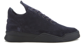 Filling Pieces Men's Ghost Low Top Trainers Navy