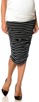 A Pea in the Pod Splendid Secret Fit Belly Ruched Maternity Skirt