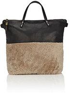 Kempton & Co. Morleigh Shearling Diaper Bag