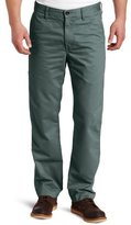 Haggar Men's LK Life Khaki Straight Fit Flat Front Utility Pant