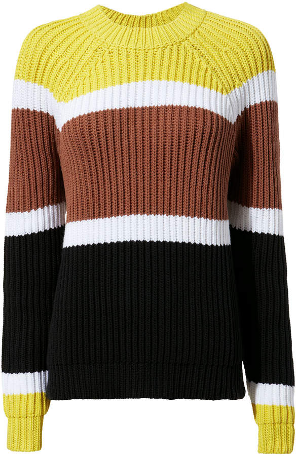 Derek Lam Colorblocked Sweater