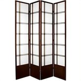 Oriental Furniture Best Quality, 84-Inch Double Cross Japanese Privacy Screen Room Divider
