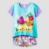Shopkins Girls Shopkins Pajama Set - Purple