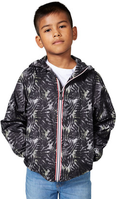 O8 Lifestyle Kid's Sam Printed Hooded Jacket, Size 12M-14