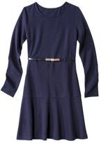 Merona Petites Colorblock Ponte Dress w/Belt - Assorted Colors