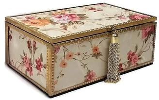 """Elégance Mandarin Jewelry Box 7 x 4.125"""""""