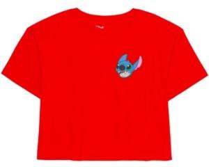 Disney Juniors' Cotton Stitch Back Graphic T-Shirt
