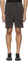 Attachment Grey Slim Shorts