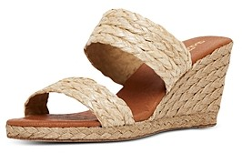 Andre Assous Women's Nolita Slip On Espadrille Wedge Sandals