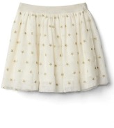 Gap Shimmer star flippy skirt