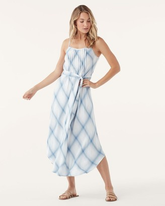 Splendid Coastal Chambray Plaid Dress