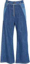 Sea Two-Tone Denim Pant