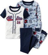 Carter's Baby Boys' 4-Pc. All-Star Sports Pajamas Set