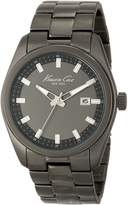 Kenneth Cole New York Men's KC9333 Classic Round Triple Black Bracelet Watch