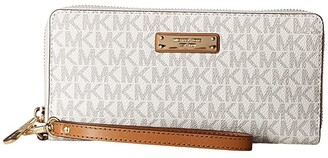 MICHAEL Michael Kors Travel Continental (Vanilla) Handbags