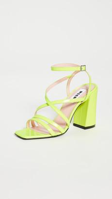 MSGM Strappy Sandals