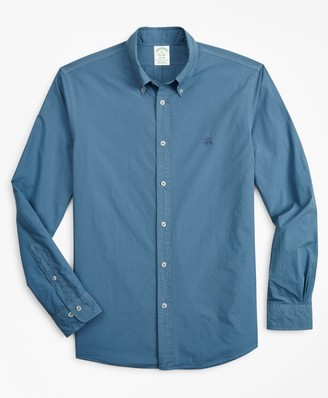 Brooks Brothers Milano Fit Garment-Dyed Sport Shirt
