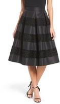 Eliza J Women's Jacquard Midi Skirt