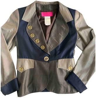 Christian Lacroix Navy Silk Jacket for Women Vintage